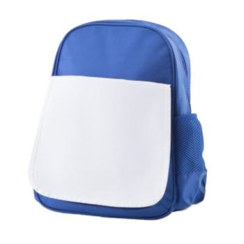 Personalised Kids School Backpack - Blue